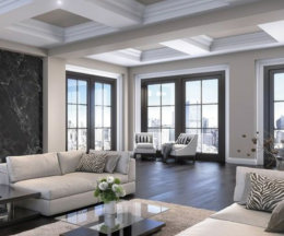 living room of a house